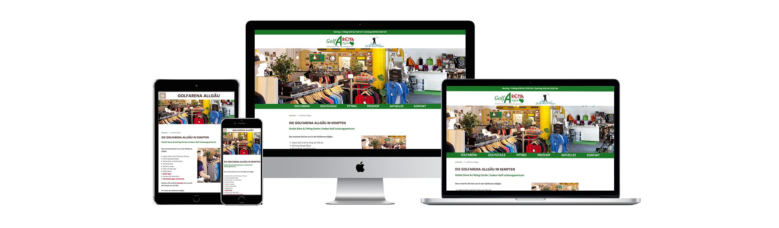 Responsives Webdesign und Online-Shops